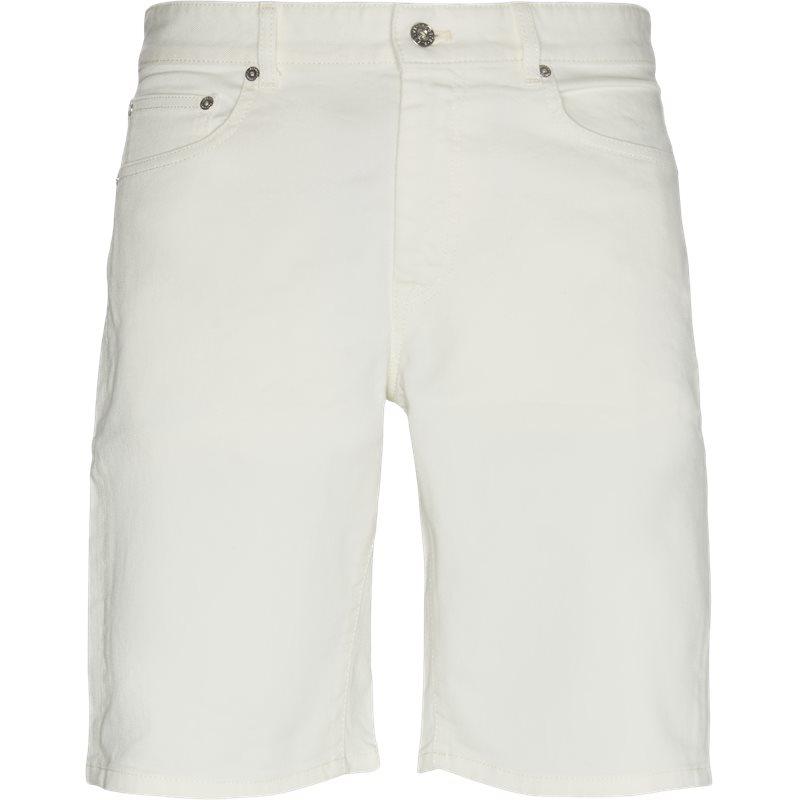 Køb Lacoste Fh9722 Denim Shorts Off White